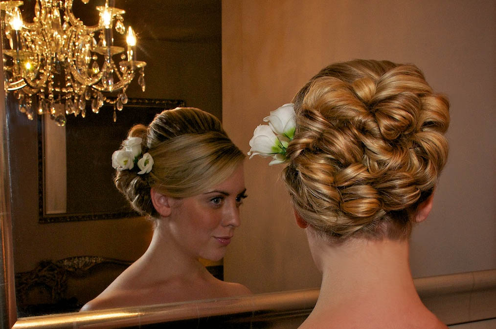 Tony Hall - Derbyshire Wedding Photographer - Looking for a hairdresser?