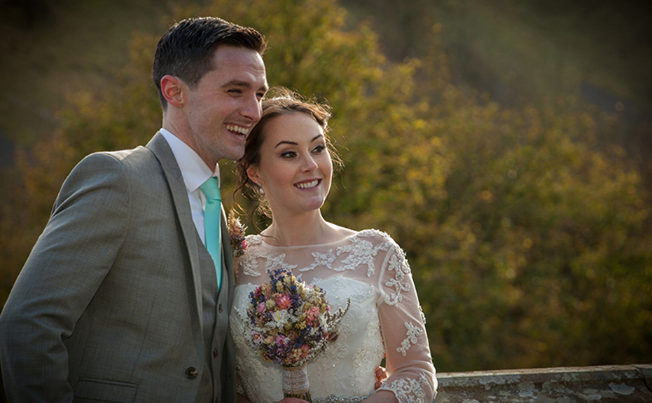 Newlyweds photographed by Wedding Photographer Derbyshire Tony Hall